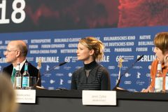 `年轻女人`在第68 Berlinale期间的新闻招待会 库存照片