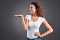 年轻女人 免版税库存照片