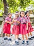年轻巴厘语学生 库存图片
