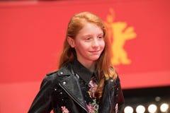 年轻意大利女演员在Berlinale期间的佐良Casu 2018年 库存图片