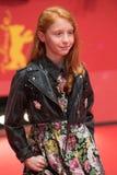 年轻意大利女演员在Berlinale期间的佐良Casu 2018年 图库摄影