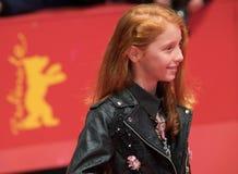 年轻意大利女演员在Berlinale期间的佐良Casu 2018年 库存照片