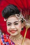 年轻泰国舞蹈家 免版税图库摄影