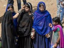 年轻Bhil女孩 免版税库存照片