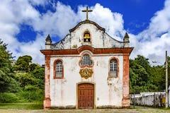 年迈的历史教会 图库摄影