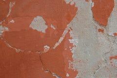 年迈的涂灰泥的墙壁 免版税库存图片