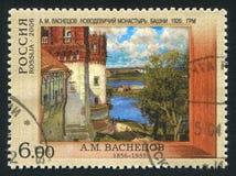 1524年遗产被题写的列表修道院莫斯科novodevichy俄国科教文组织是世界 库存照片