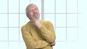 年长男性收养认为 股票视频