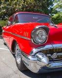 1957年雪佛兰贝莱尔汽车 库存照片