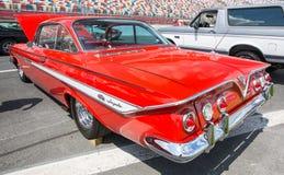 1961年雪佛兰飞羚SS汽车 免版税库存图片