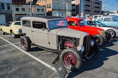 1932年雪佛兰2门轿车 免版税图库摄影