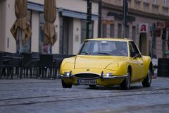 1970年马特拉M530 LX老朋友汽车 库存照片