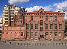 年龄大厦现代老 库存图片