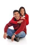 年龄夫妇中间名 库存照片