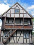 年龄房子中间斯堪的纳维亚人 免版税库存照片