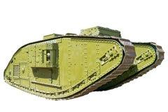年龄男性老坦克v 免版税库存照片