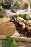 年龄饮食人石头 免版税图库摄影