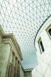 29 07 2015年,伦敦,英国-大英博物馆视图和细节 免版税库存图片