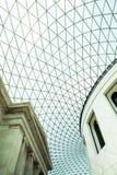 29 07 2015年,伦敦,英国-大英博物馆视图和细节 免版税图库摄影