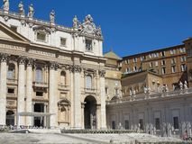 19 06 2017年,梵蒂冈,罗马,意大利:Sa著名建筑学  库存图片