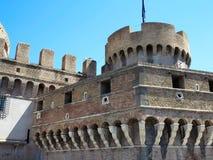 19 06 2017年,罗马,意大利:圣洁天使, Hadrian M的城堡 免版税库存照片