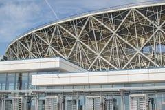 2018年5月23日伏尔加格勒,俄罗斯 新的橄榄球场伏尔加格勒竞技场 库存图片