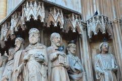 2016年6月20日的塔拉贡纳大教堂在塔拉贡纳,西班牙 它约会对12第13个世纪 免版税库存照片
