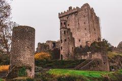 2017年11月17日,奉承,爱尔兰-奉承城堡 图库摄影