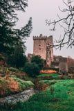 2017年11月17日,奉承,爱尔兰-奉承城堡 免版税库存照片