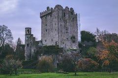 2017年11月17日,奉承,爱尔兰-奉承城堡 免版税库存图片