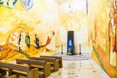 2017年6月01日 圣焦万尼罗通多,普利亚,意大利圣所  免版税库存图片