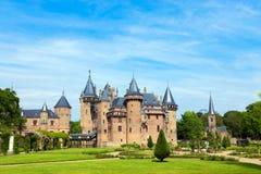 2018年5月12日 城堡德哈尔,乌得勒支,荷兰 免版税库存照片