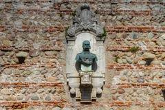 2016年6月11日 意大利-田园诗中世纪City Bassano del Grappa 免版税图库摄影