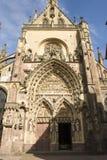 2009年7月09日 教会在阿尔萨斯法国 法国7月09日2009年阿尔萨斯 免版税库存照片