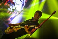 2018年2月4日 萨格勒布,克罗地亚:庞克摇滚乐带在4的英国潜水艇 库存图片