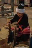 2017年9月22-24,清莱公平的丝绸和的棉花 免版税库存图片
