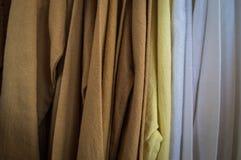 2017年9月22-24,清莱公平的丝绸和的棉花 库存照片