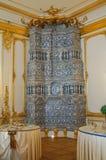 2017年7月1th日 Tsarskoye Selo,圣彼德堡,俄罗斯 凯瑟琳宫殿的内部 库存图片