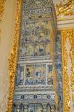 2017年7月1th日 Tsarskoye Selo,圣彼德堡,俄罗斯 凯瑟琳宫殿的内部 免版税库存照片