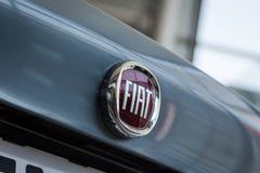 01 2017年8月- Vinnitsa,乌克兰-品牌FIA的商标 免版税库存照片