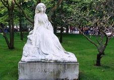 2008年 04 02,巴黎,法国 纪念碑向施滕达尔县 库存照片