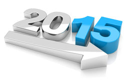 年2015年 免版税库存图片