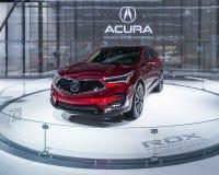 2019年Acura RDX, NAIAS 免版税库存图片