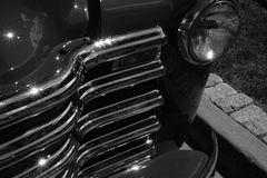 1953年chevroelet卡车,前面格栅 库存图片