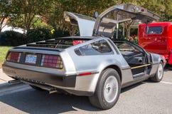 1981年Delorean跑车 免版税图库摄影