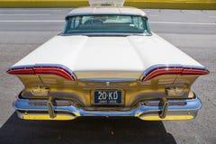 1958年Edsel汽车 免版税库存照片