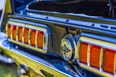 1968年Ford Mustang加利福尼亚专辑 库存照片