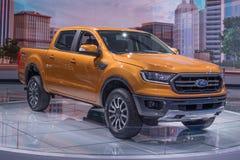 2019年Ford Ranger FX4, NAIAS 免版税库存照片