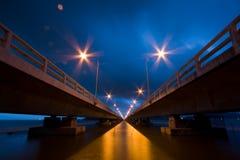 并行桥梁 免版税图库摄影