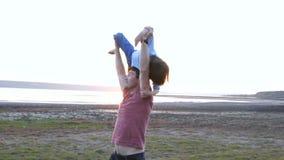 幸福家庭本质上、爸爸和儿子 影视素材